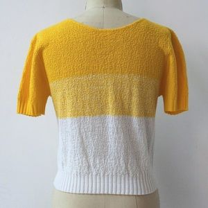 Vintage Tops - Vintage 90s Crop Knit